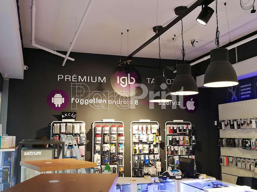 Üzlet dekor - IGB